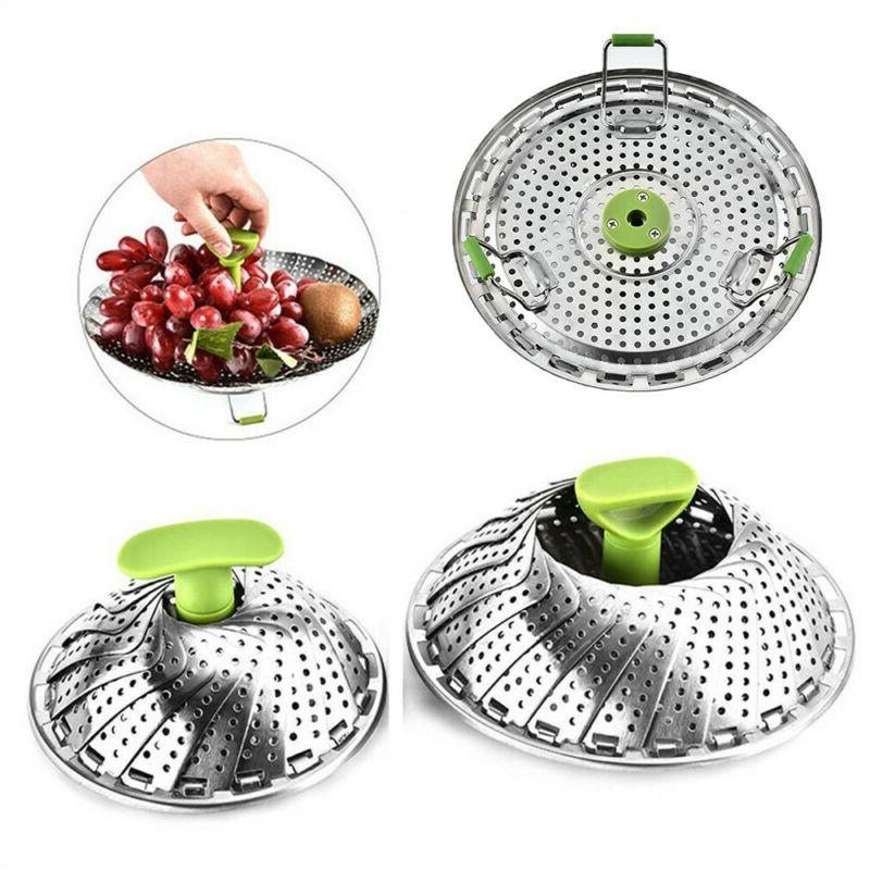 Stainless Steel Vegetable Steamers For Cooking Steamer Extendable