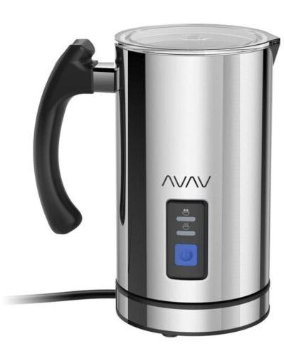 va eb008 milk frother electric steamer stainless