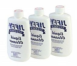 Jiffy Steamer Liquid Cleaner Removes Hard Water Deposits 3PK