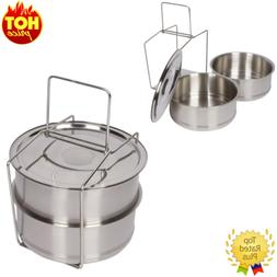 Lunch Box Kitchen & Dining Cookware Baskets Pot Food Vegetab