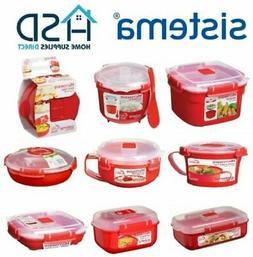 Sistema Microwave Lunch Box Container Hot Food Bowl Porridge