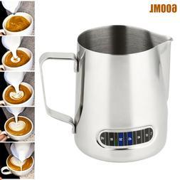 Milk Coffee Frothing Steam Pitcher Stainless Steel Art Espre