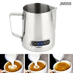 Milk Frothing Steam Pitcher Stainless Steel Espresso Art Cof