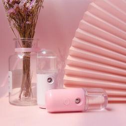 Mini USB Portable Pore Facial Steamer Nano Mist Face Sprayer