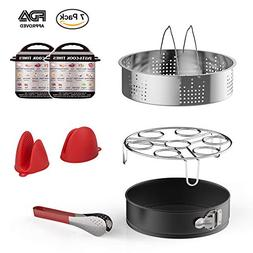 Funria Instant Pot Accessories Set for Pressure Cooker 5, 6,