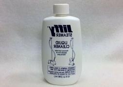 New, Unused 10oz Bottle of JIFFY STEAMER Liquid Cleaner