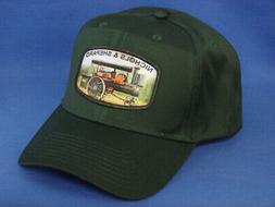 Nichols & Shepard Steam Tractor Hat - Dark Green - High Crow