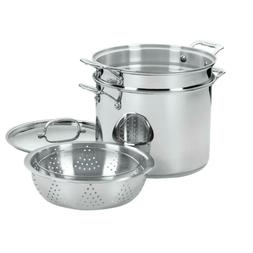 Pasta/Steamer Set Chef's Classic Stainless Steel Basket with