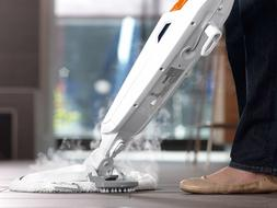 PowerFresh Steam Mop with Discs and Scrubber Clean Tile and