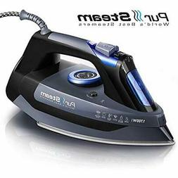 Professional Irons Grade 1700W Steam For Clothes Rapid Even