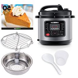 Programmable Pressure Cooker 9 Functions Ultra 6 Qt 10 in1 M