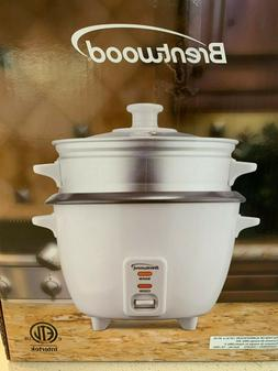 Rice Cooker Brentwood  4-Cup Non-Stick Inner Pot Rice Cooker