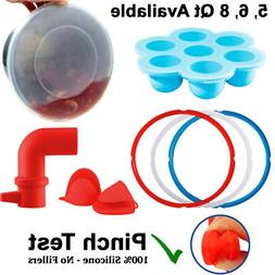Silicone Accessories - Instant Pot 5, 6 Qt: 3 Rings Lid Mitt