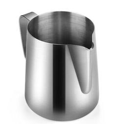 Stainless Steel Milk Frothing Pitcher - Milk Steamer Cup Sui