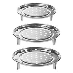 Stainless Steel Steamer Tray Rack Durable Pot Steaming Stand