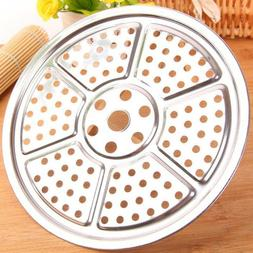 Stainless Steel Steamer Tray Rack Pot Steaming Plate Basket