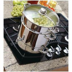 Steam Juicer Stainless Steel Stove Top Tempered Glass Lid Co