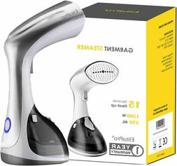 Steamer for Clothes, Vertically and Horizontally 1200W, Heat