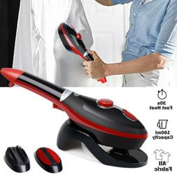 Portable Steam Iron Handheld Steamer Fabric Laundry Clothes