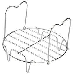 Tmflexe Steamer Rack Trivet with Handles for Instant Pot 6 Q