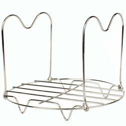 Steamer Rack Trivet with Handles Compatible for Instant Pot