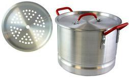 Tamale Pot with Steamer Insert Pamona 12 Qt. Lightweight Alu