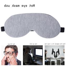 Usb Temperature Control Heat Steam Cotton Eye Mask Dry Tired