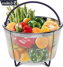 Vegetable Steamer Basket for 6 and 8 qt Instant Pot Accessor