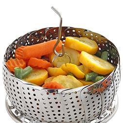 Vegetable Steamer Basket Set Standard Size Steamer Inserts f
