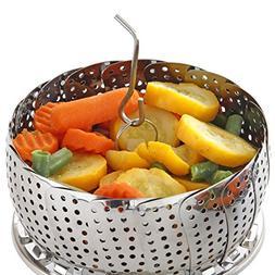 Standard Vegetable Steamer Basket Set - Steamer Insert for I