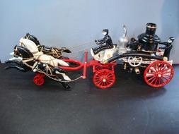 Vintage Utexiquel Products ~ Cast Iron ~ Horse Drawn Steam P